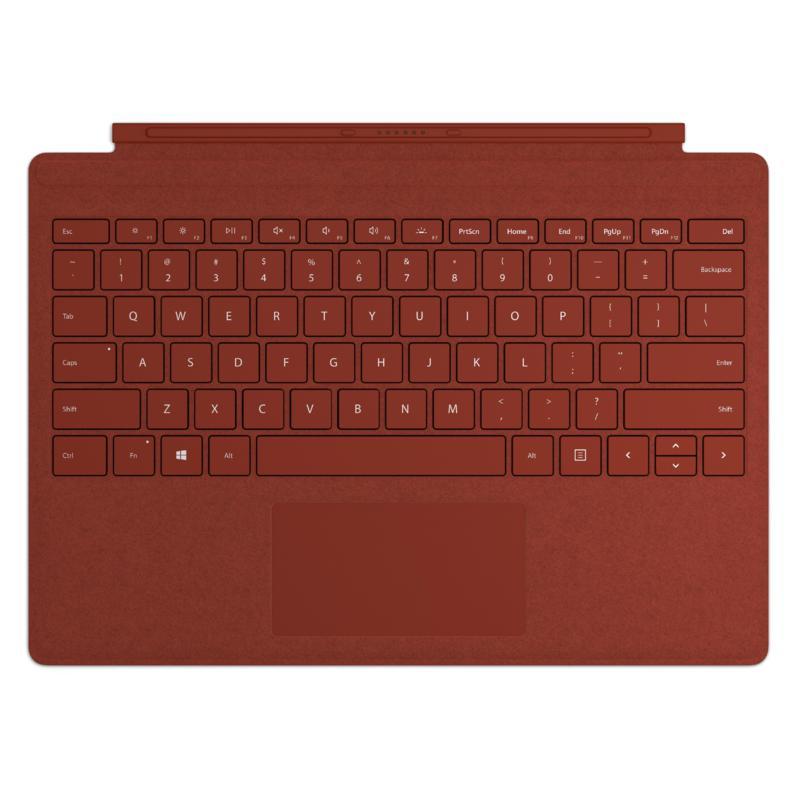 Teclado Microsoft Surface Pro Alcantara - Coral
