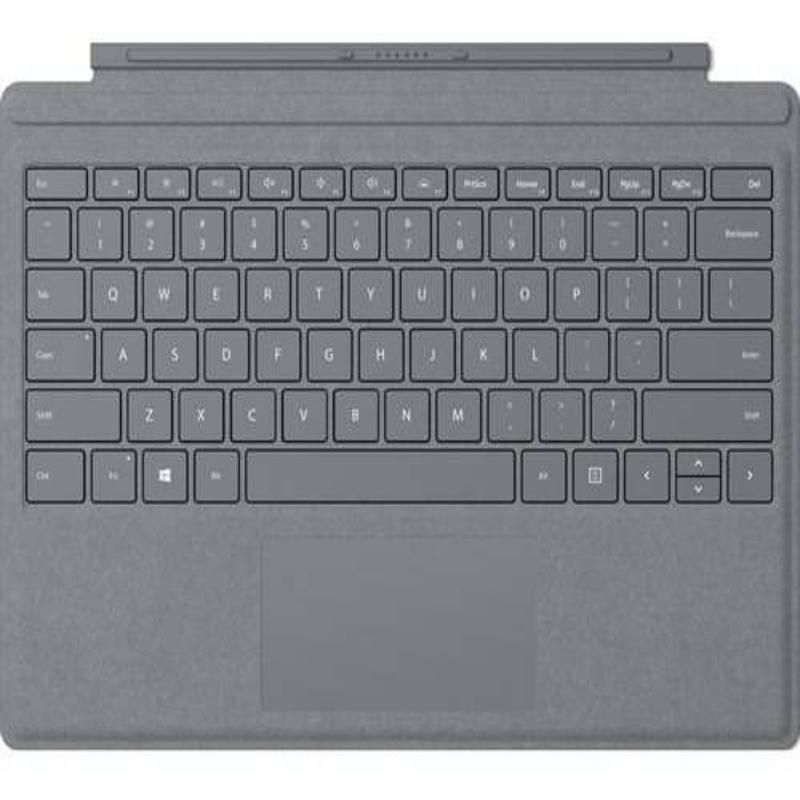 Teclado Surface GO Cinza Microsoft