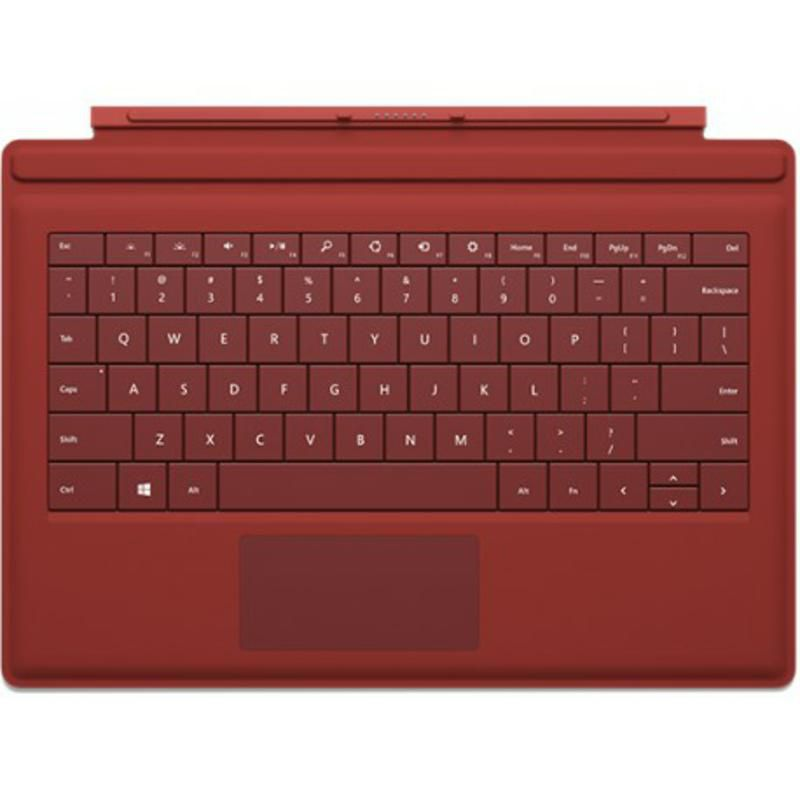 Teclado Surface GO Vermelho Coral Microsoft