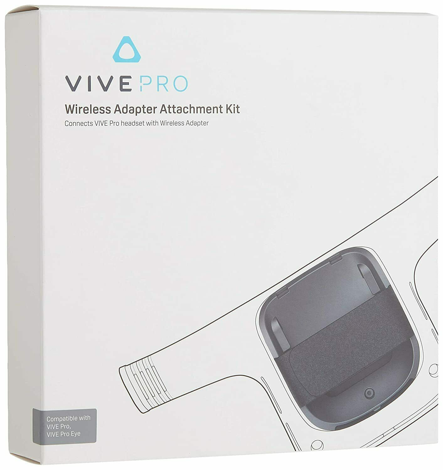 Vive Pro Wireless Adapter Attachment Kit