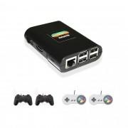Combo Infanto 3 - Video Game Console retrô com 20 mil jogos antigos (4 controles)