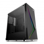 Computador Gamer Intel Core i3-2120 de 3.30 GHz, 8GB RAM, NVIDIA GeForce 9800GT e 500GB HD