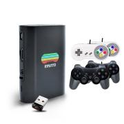 Console Infanto 3 - Video Game Retrô com 20 mil jogos antigos (4 controles com fio) + Pendrive 32gb com jogos de PS1