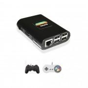 Console Infanto 3 - Video game Retrô Multijogos antigos em HD (2 controles com fio)