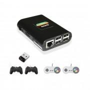 Super Combo Infanto 3 - Video Game Retrô com 20 mil jogos antigos (4 controles) + Pendrive 32gb com jogos de PS1