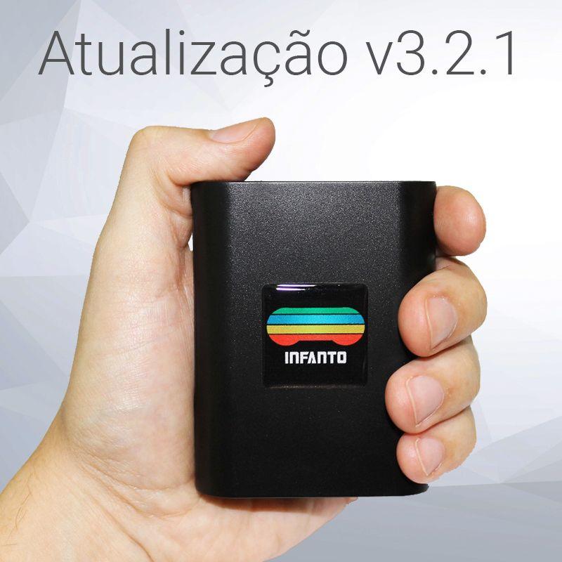 Atualização do console Infanto