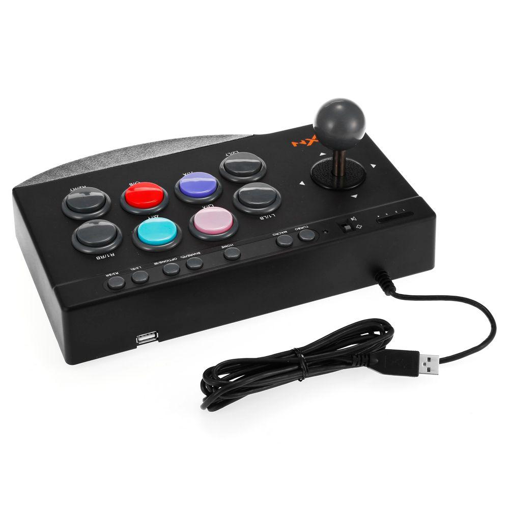 Controle Arcade Fightstick - Joystick USB PXN-0082