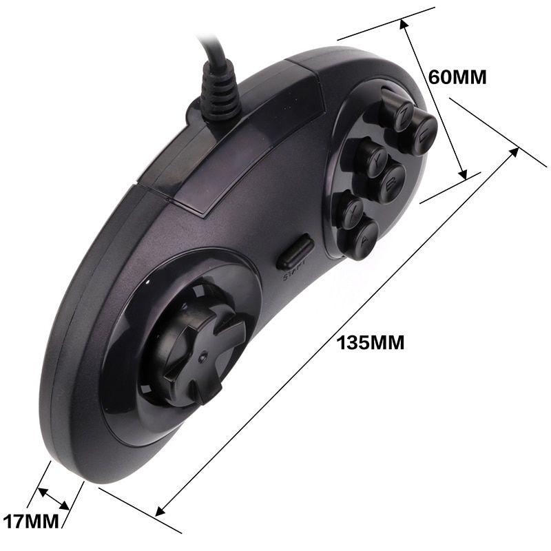 Controle Sega Mega Drive USB