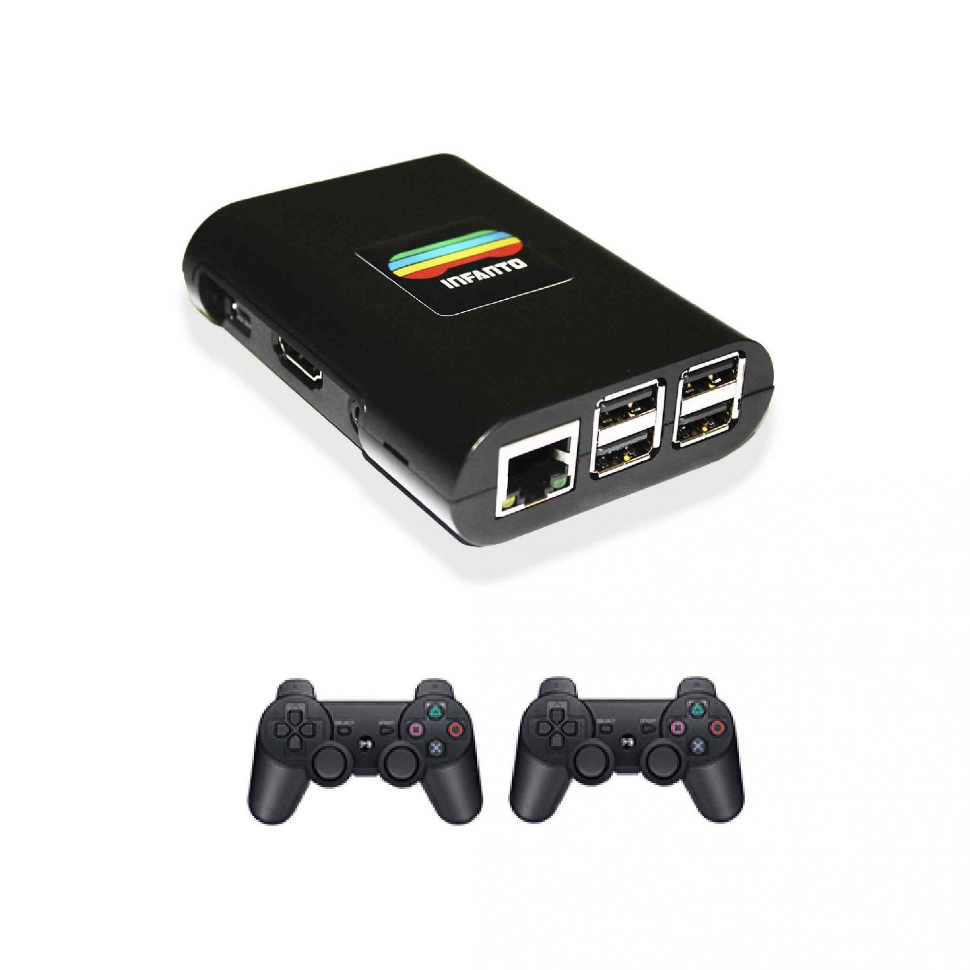 Infanto 3 - Videogame Multiplataforma e Multijogos antigos em HD