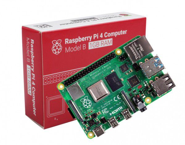 Raspberry Pi 4 Model B - 1gb de Ram DDR4