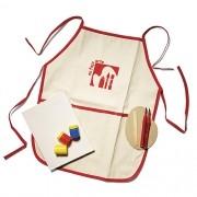 Avental Infantil Kit Artista - Alegria Sem Bateria