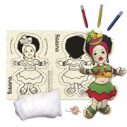 Boneca de Pano  Baiana - Alegria Sem Bateria