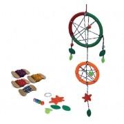 Brinquedo Sonho Meu - kit para montar filtro dos sonhos
