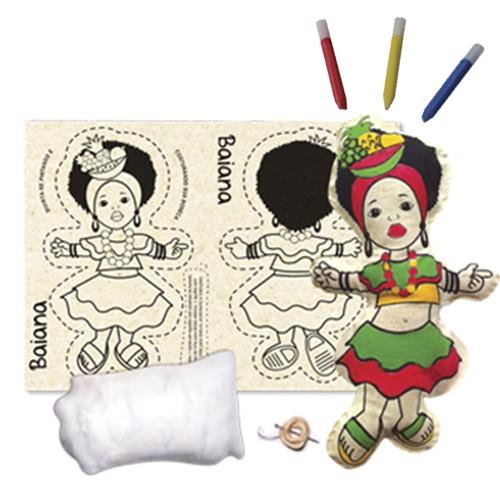 Boneca de Pano  Baiana - Alegria Sem Bateria  - Alegria Sem Bateria