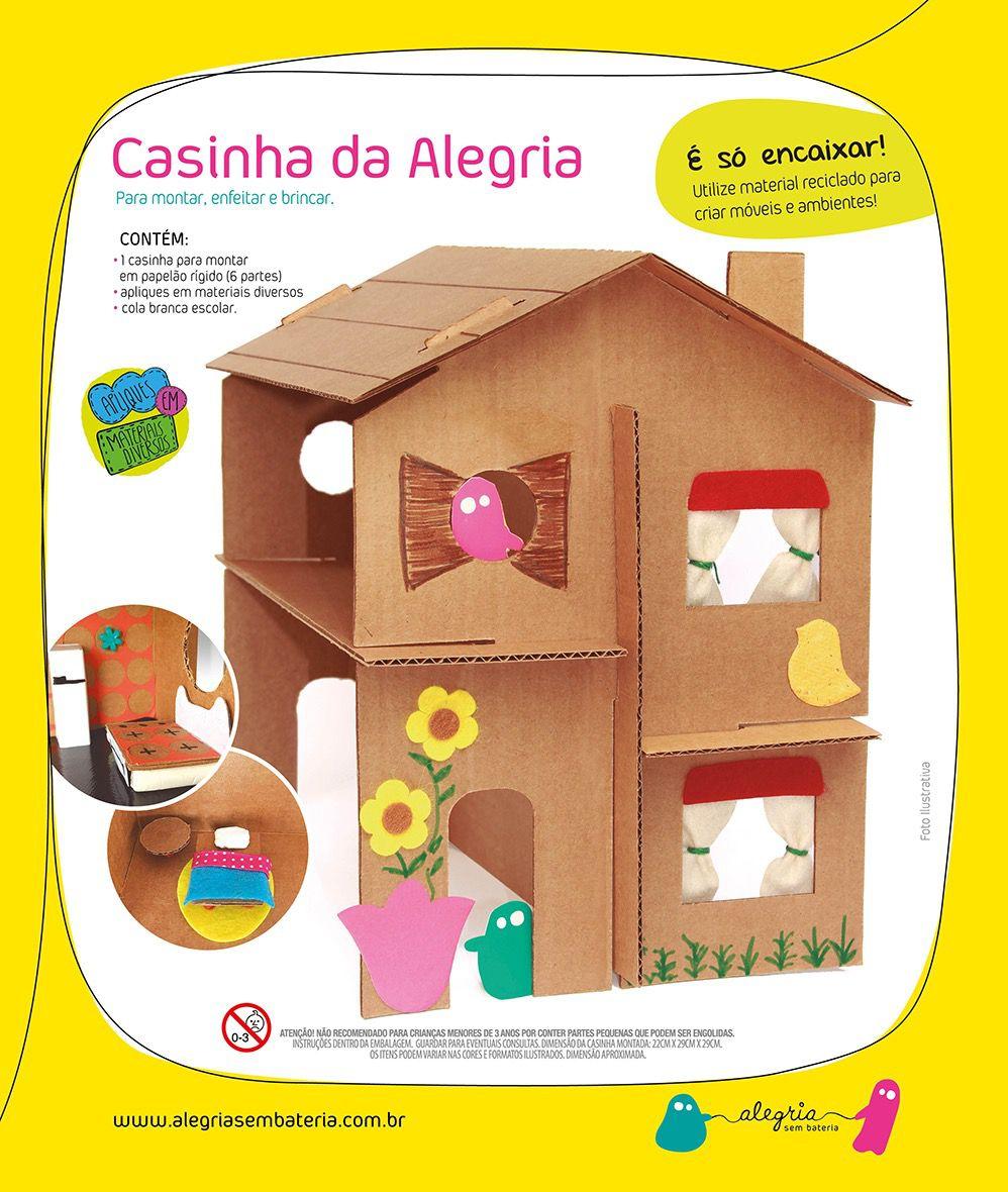 CASINHA DA ALEGRIA  - Alegria Sem Bateria