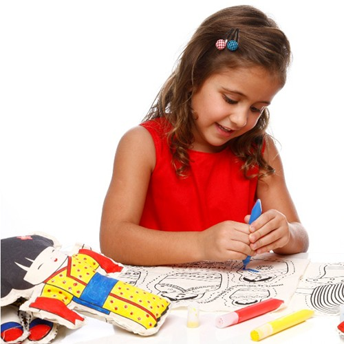 Boneca de Pano  Kokeshi - Alegria Sem Bateria  - Alegria Sem Bateria