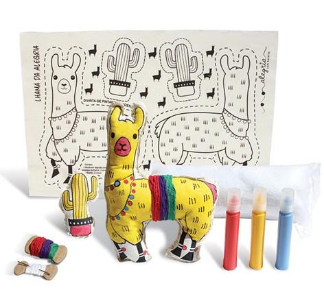 Boneca de Pano  Lhama da Alegria - Alegria Sem Bateria  - Alegria Sem Bateria