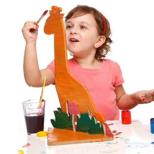 Jogo de Argolas  Mira Girafa - Alegria Sem Bateria  - Alegria Sem Bateria
