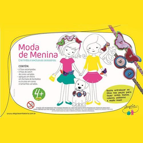 Moda de Menina - Alegria Sem Bateria  - Alegria Sem Bateria