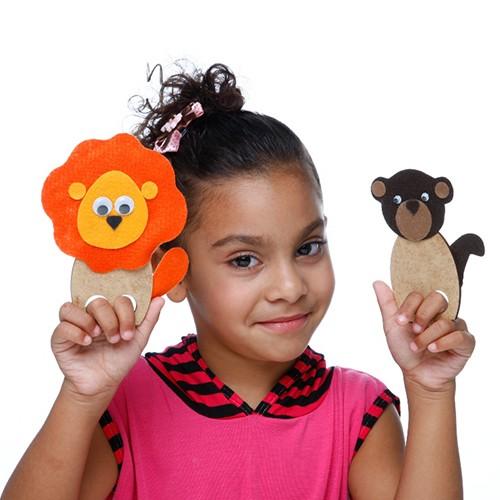 Brinquedo Teatrinho de Dedos  - Alegria Sem Bateria