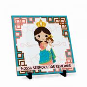 Azulejo Nossa Senhora dos Remédios 20x20cm