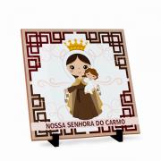 Azulejo Nossa Senhora do Carmo 20x20cm