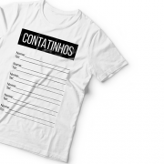 Camiseta Contatinhos