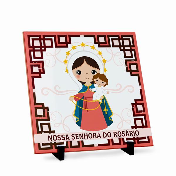 Azulejo Nossa Senhora do Rosário 20x20cm