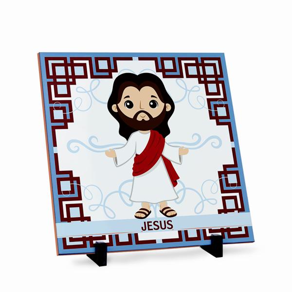 Azulejo Jesus 20x20cm