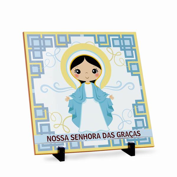 Azulejo Nossa Senhora das Graças 20x20cm