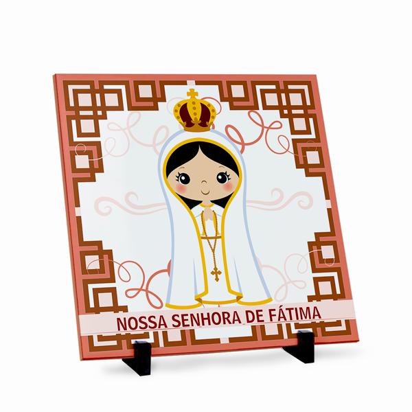 Azulejo Nossa Senhora de Fátima 20x20cm