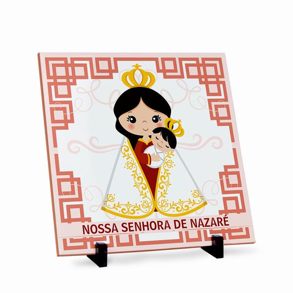 Azulejo Nossa Senhora de Nazaré 20x20cm