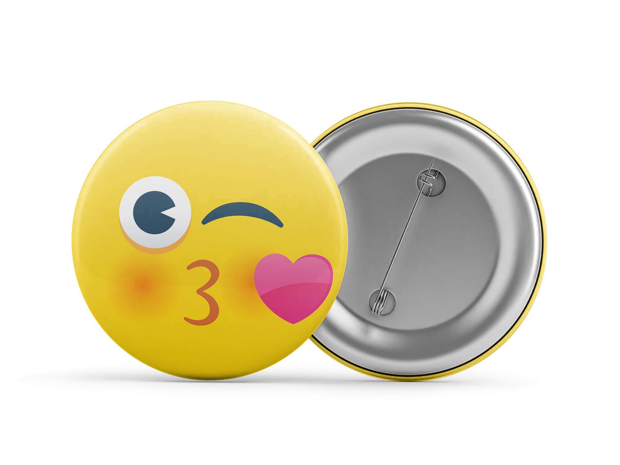 Botton Emoji amor
