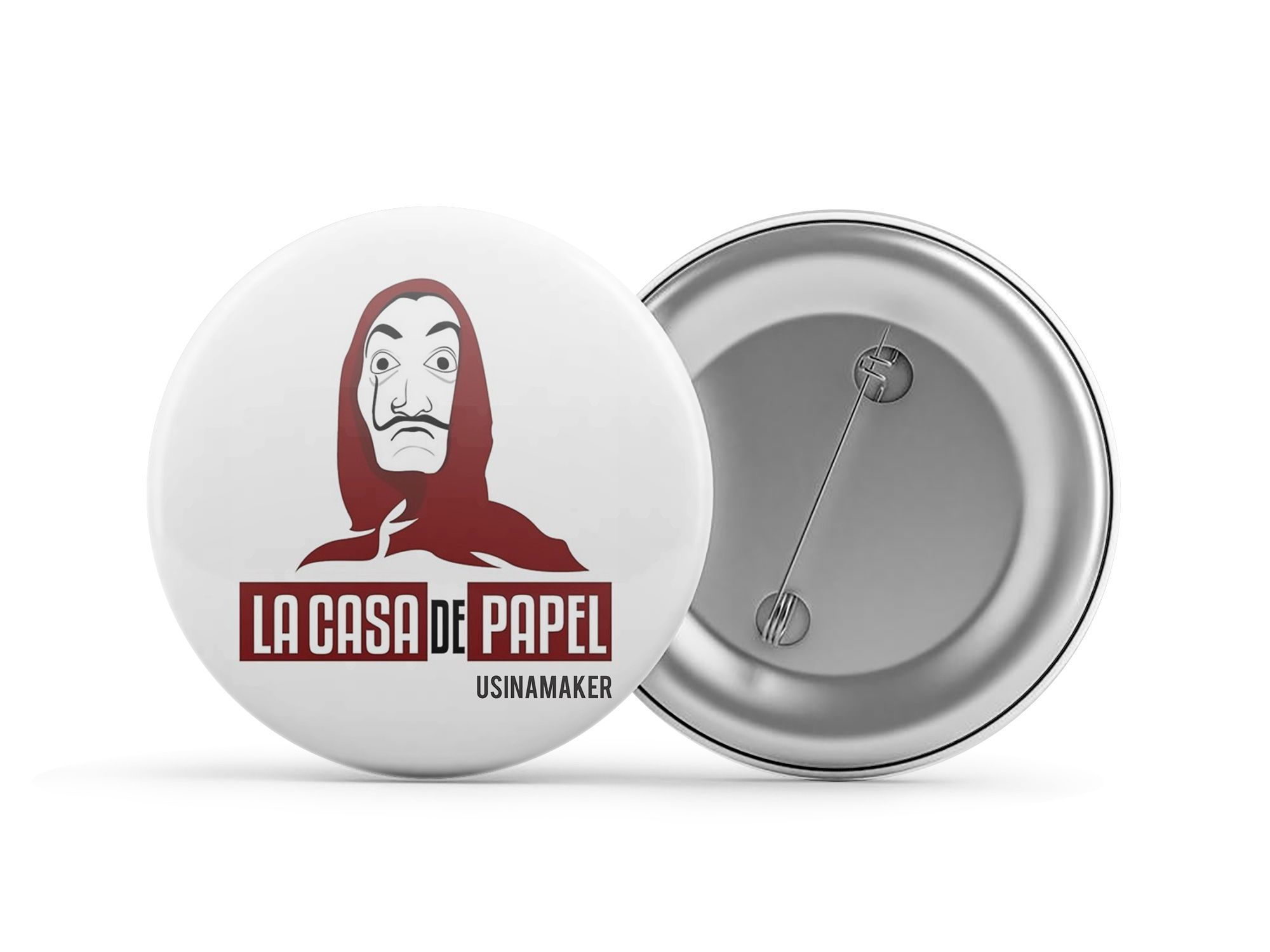 Botton La Casa De Papel