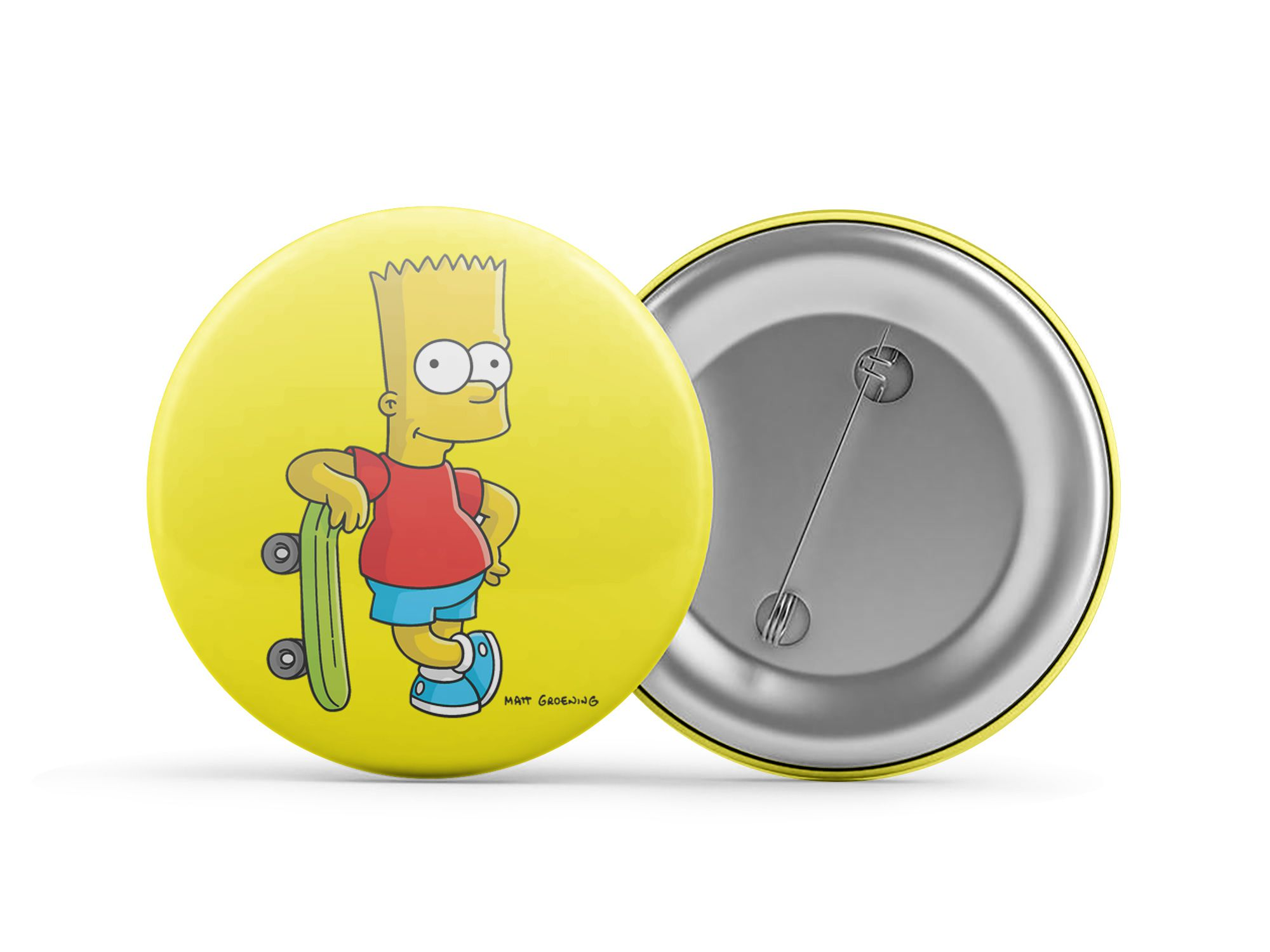 Botton Bart Simpson