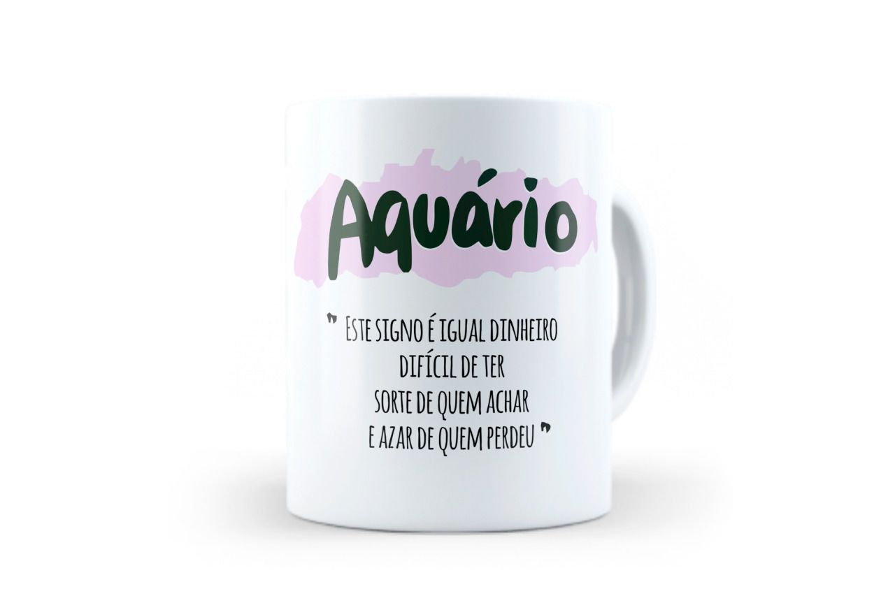 CANECA - AQUÁRIO