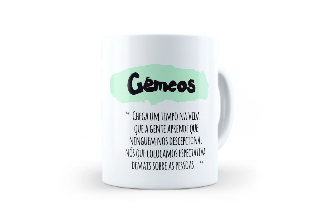 CANECA - GÊMEOS