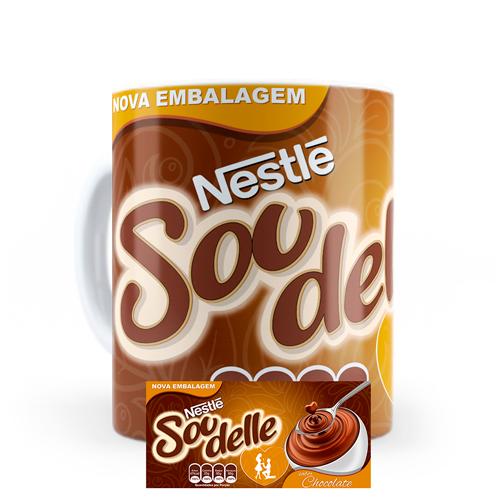 Caneca Nestle Sou Delle