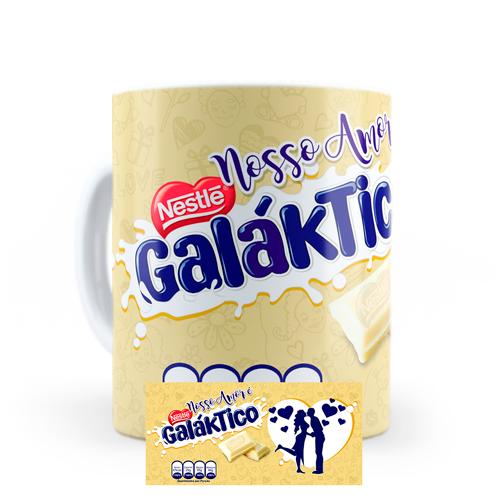 Caneca Nosso amor Galáktico