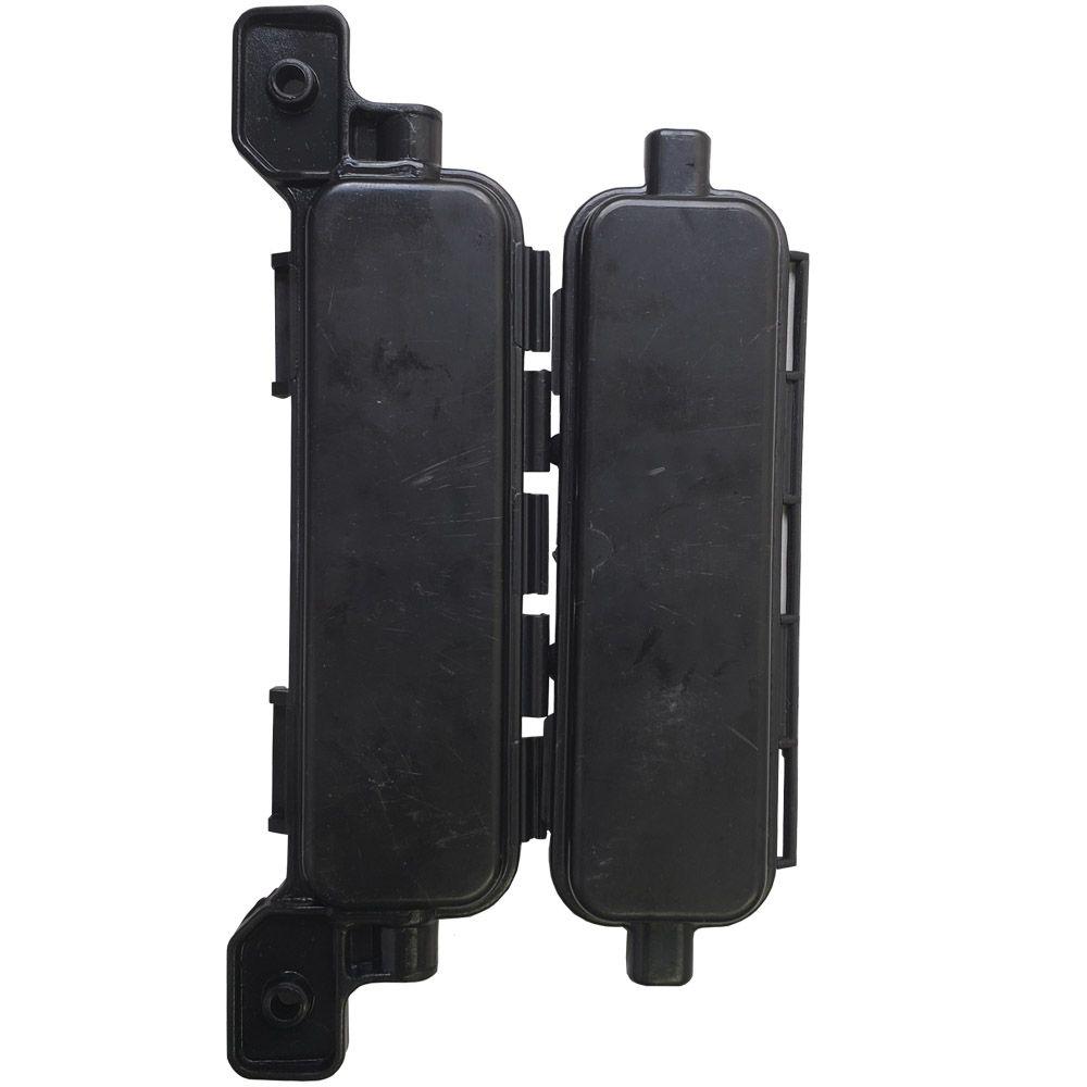 05 Unidades de Mini Caixa De Emenda Para Cabo Drop de Provedor Fibra Óptica FTTH