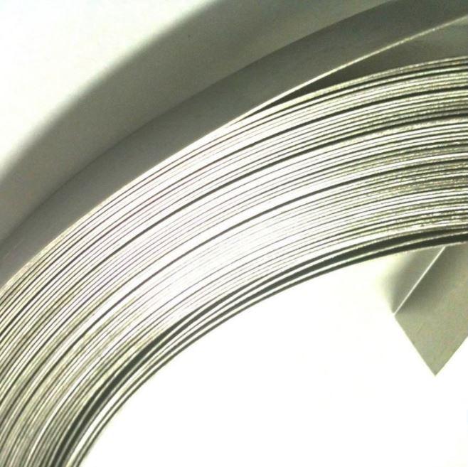 "10 Pçs Rolo Fita de Aço Inox 3/4"" x 0,5mm x 25m Fusimec"