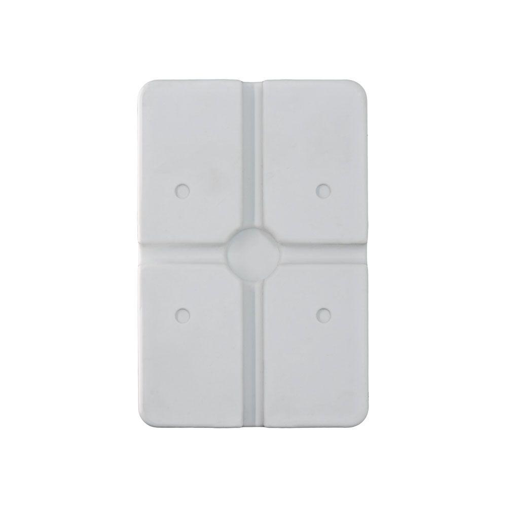15 Unidades de Caixa de sobrepor P/ CFTV RETANGULAR Branca c/ tampa cega