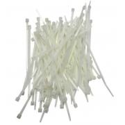 1000 Peças de Abraçadeira de Nylon AP 100 (antiga M18) Natural (branca)