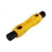 10 Pçs Decapador de Cabo Coaxial GC-332 - Caneta Amarela