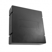 10 unidades Caixa de Emenda Óptic-Block 12F - Terminador óptico de PVC quadrado