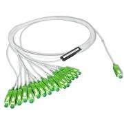 10 Unidades de Splitter Óptico Plc 1x16 Balanceado Conectorizado Sc-apc Sm