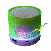 Caixa de som Bluetooth com iluminação Led CS-A12BT - Verde