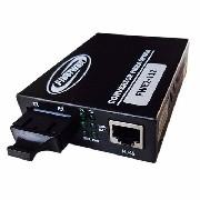 Conversor de Fibra Optica MM e SM 10/100 2 FO SC p/ RJ45  FWE2-112