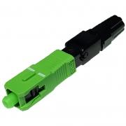 2000 Unidades de Conector Óptico de campo Fast Connector de Rosca SC-APC – Verde