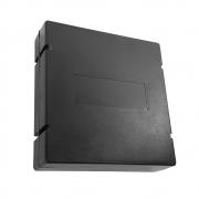 20 unidades Caixa de Emenda Óptic-Block 12F - Terminador óptico de PVC quadrado